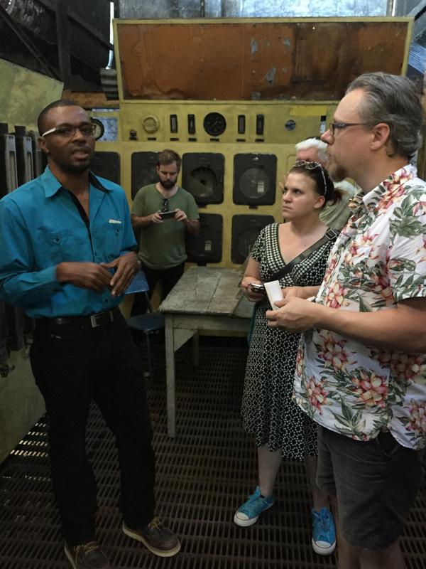 Kevin Barnett, Distllery manager at Long Pond distillery