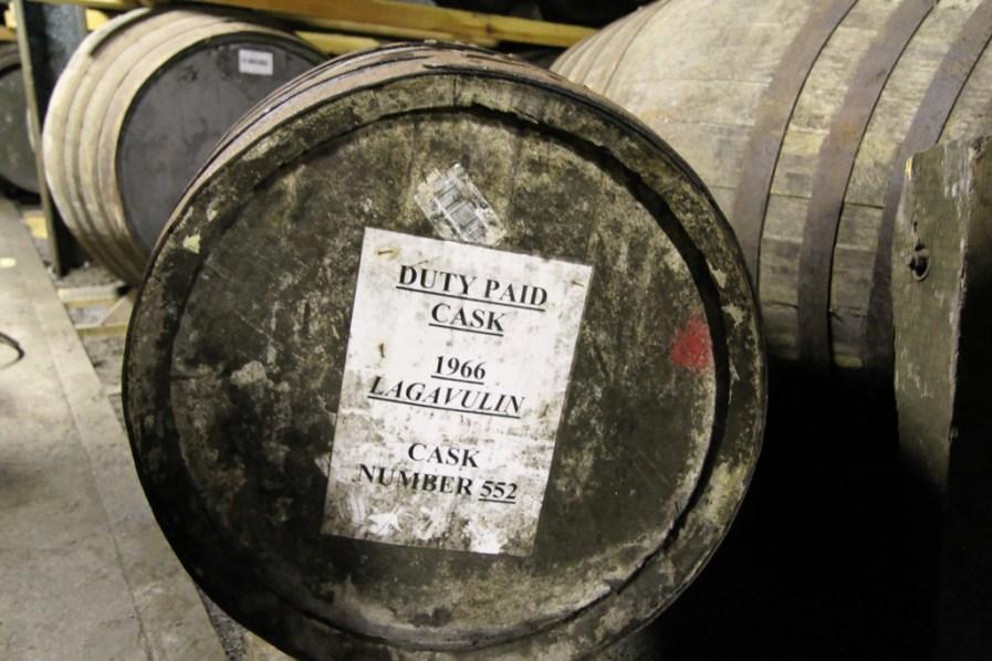 50 year old whisky at Lagavulin