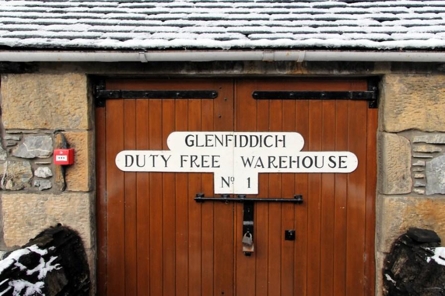 Dunnage warehouse at Glenfiddich