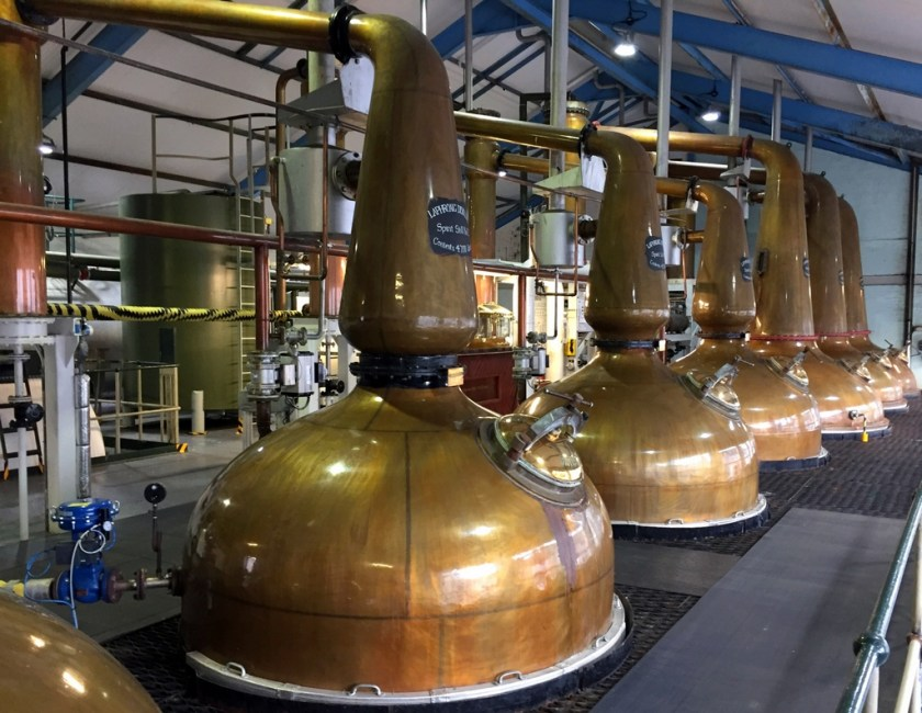 Pot still at Laphroaig