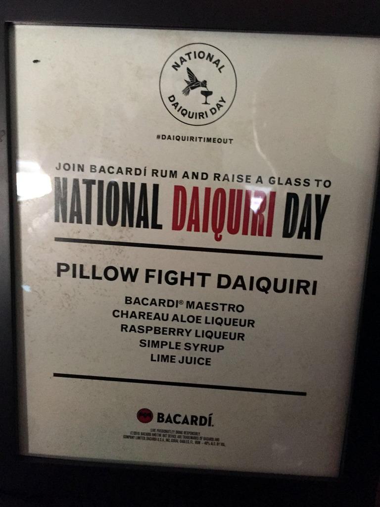 Bacardi National Daiquiri Day Bar Crawl 2016 - Gina Kent at El Libre
