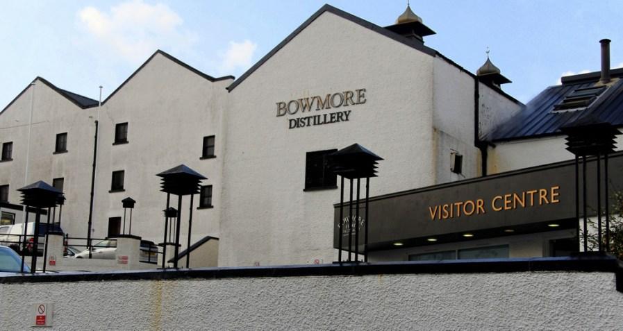 Bowmore distillery building