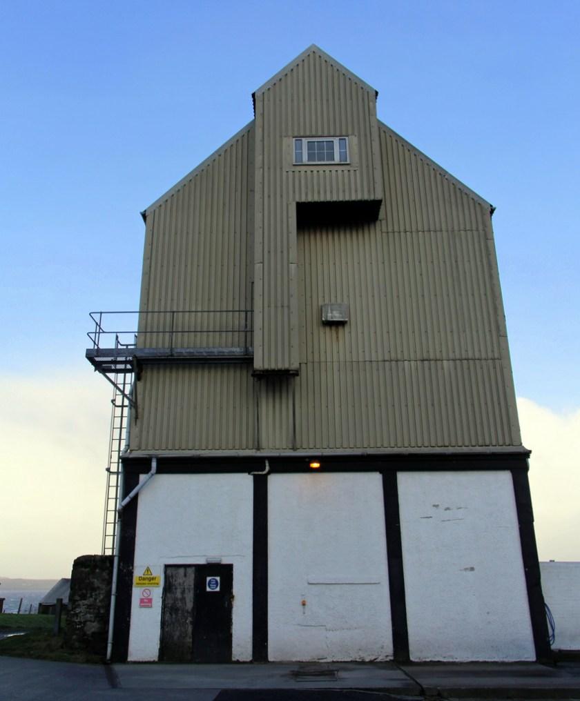 Grain storage, Bowmore distillery