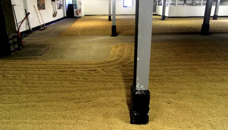 Malt floor, Bowmore distillery