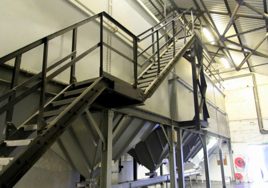 Malt bins, Bowmore distillery