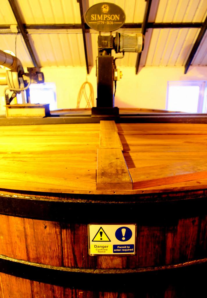 washback, Bowmore distillery