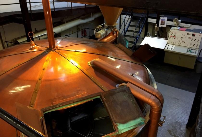 Mash tun at Bowmore distillery
