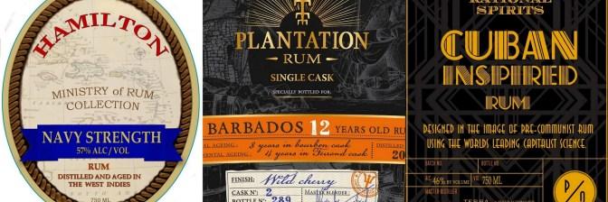 Stalking the TTB: Upcoming U.S. rum releases from Plantation, Hamilton, Samaroli, El Dorado, Rational Spirits and more! May and June 2016