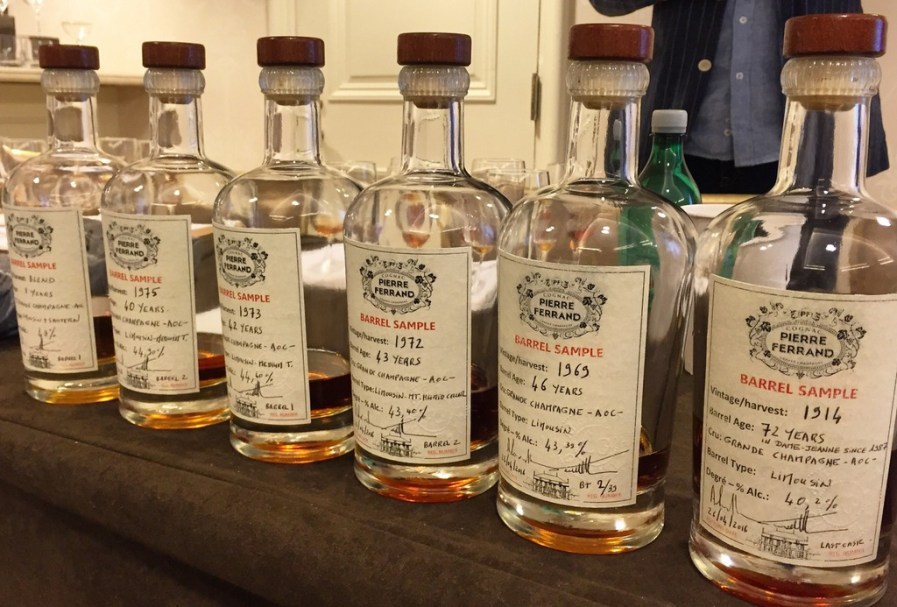 An Exclusive Tasting of Rare Pierre Ferrand Cognacs, Tales of the Cocktail 2016