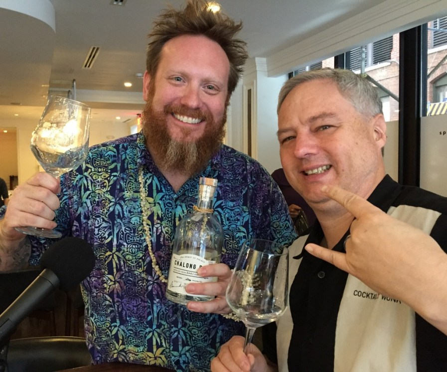 Ed Rudisell and Cocktail Wonk