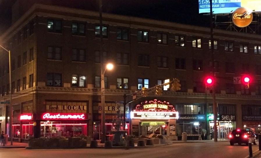 Indianapolis at night