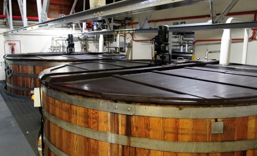 Wash tun, Glenfiddich Distillery