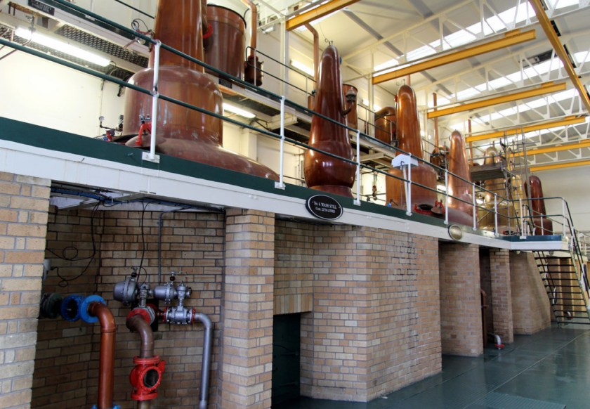 Pot stills, Glen Grant distillery
