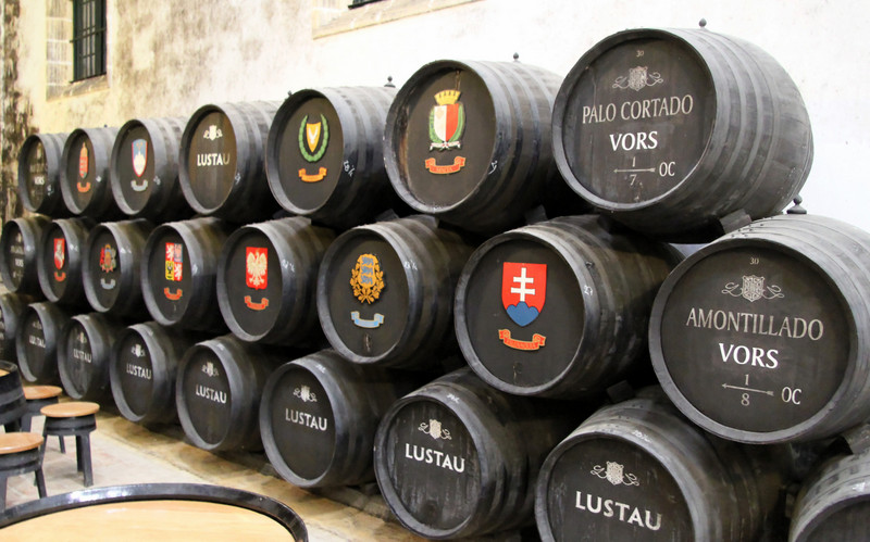 VORS shery cask, Lustau, Jerez de la Frontera