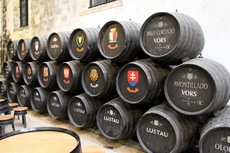 VORS casks at Lustau