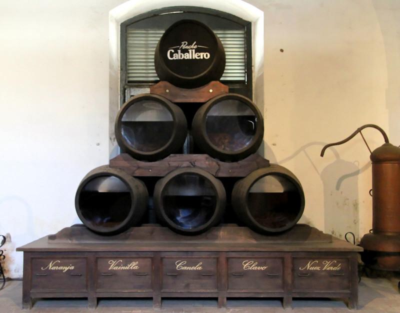 Ponche Caballero casks, El Puerto de Santa María