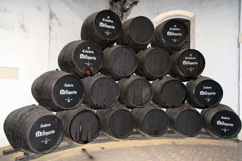Brandy de Jerez casks, El Puerto de Santa María