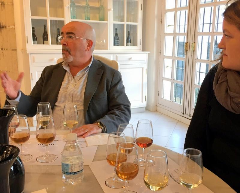 Fernando Perez describing the evolution of amontillado sherry