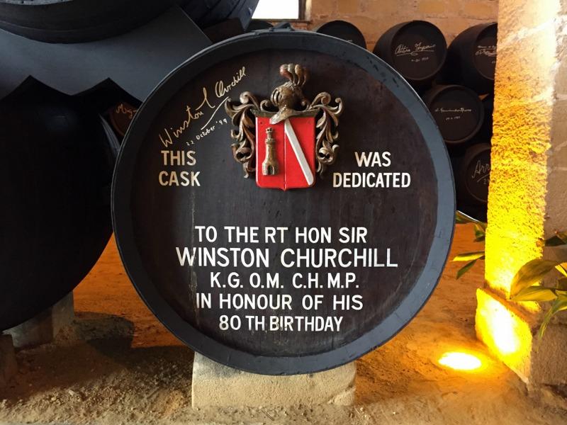 Winston Churchill cask, González Byass