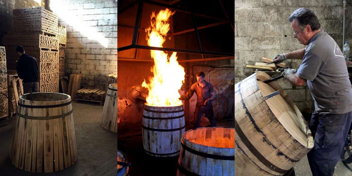 Birth of a Sherry Cask