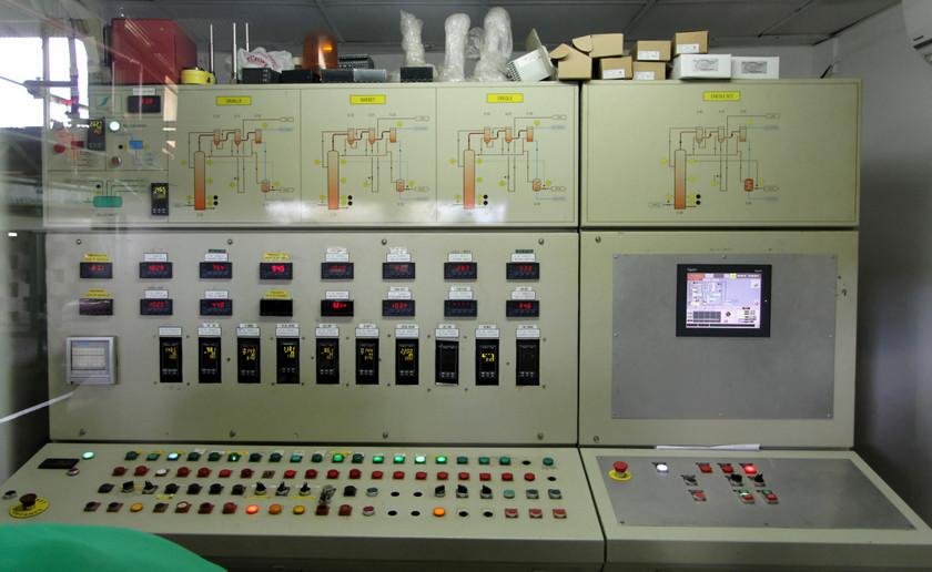 Distillation control board, Distillerie du Simon, Martinique