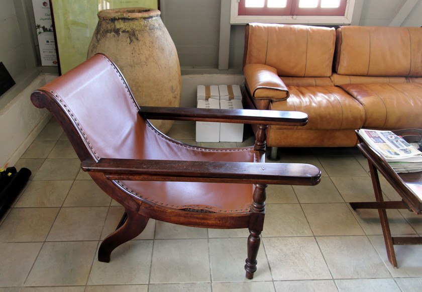 Planter's chair, Distillerie du Simon, Martinique