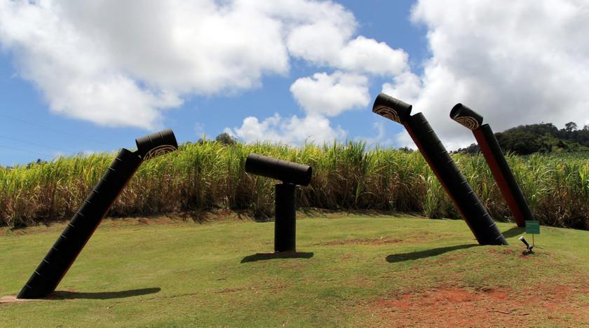 Art at Clemént estate, Martinique
