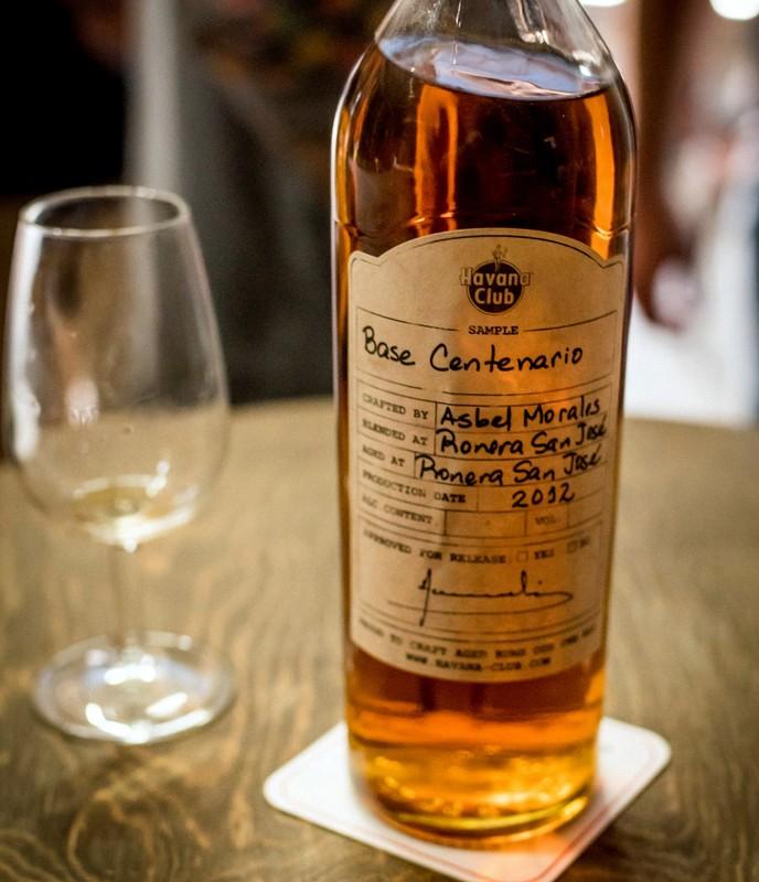 """Cuban rum """"base."""" Photo credit: Caleb Krivoshey"""