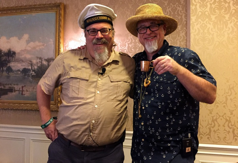 David Wondrich, Jeff Berry. 400 Years of Drinking on the High Seas session. Tales of the Cocktail 2017