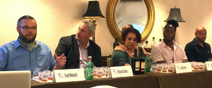 Fred Minnick, Richard Seale, Joy Spence, Karl Williams, Paul Yellin. Tales of the Cocktail 2017