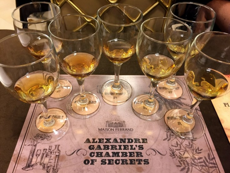 Alexandre Gabriel's Chamber of Secrets session. Tales of the Cocktail 2017