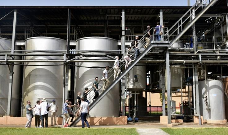 Fermentation tanks, Havana Club San José distillery