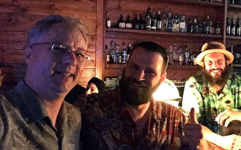 Cocktail Wonk, William Prestwood, Daniel Parks of Pagan Idol, California Rum Festival 2017