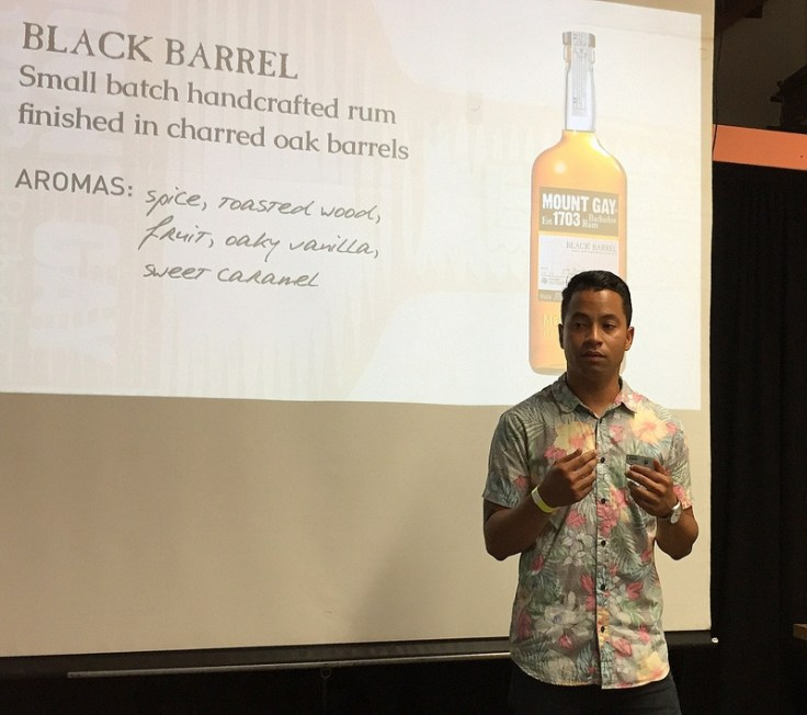 Dominic Alling, California Rum Festival 2017