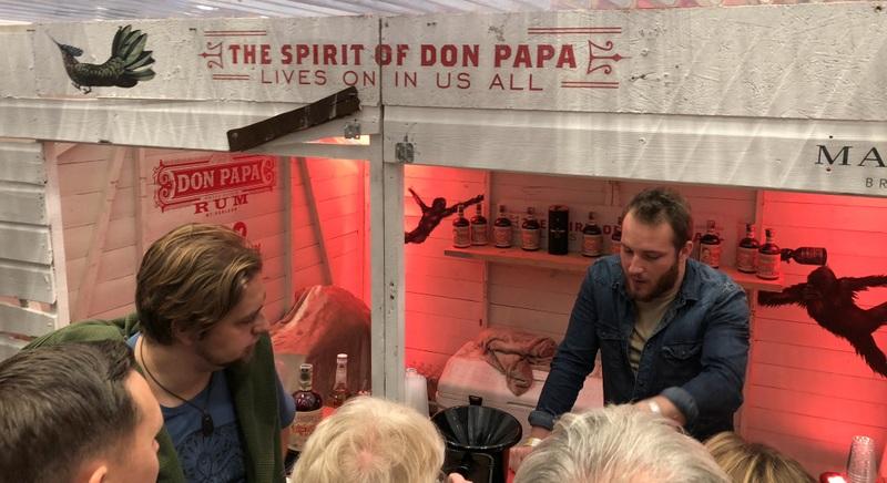Don Papa Rum (yes...), UK RumFest 2017