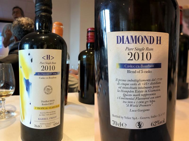 Velier's Diamond H Hampden Estate bottling