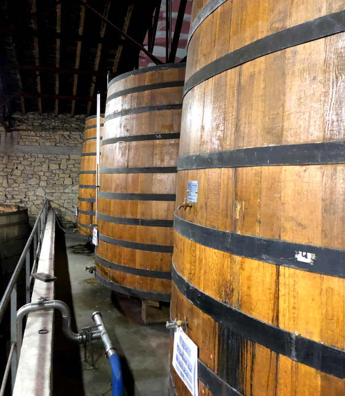 Maison Ferrand aging warehouse