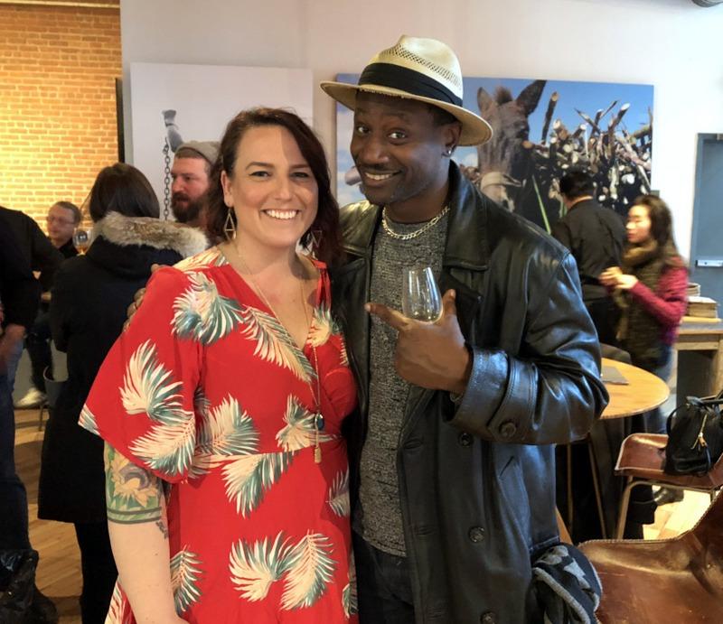 Jennifer Akin, Ian Burrell - Velier U.S. Launch Event - Feb. 5, 2018