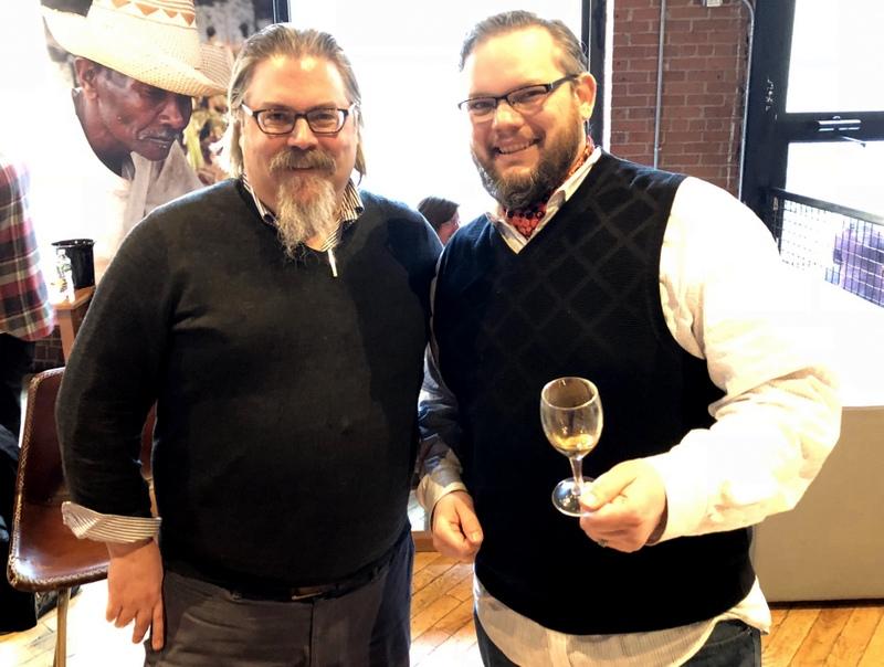 David Wondrich, Fred Minnick - Velier U.S. Launch Event - Feb. 5, 2018
