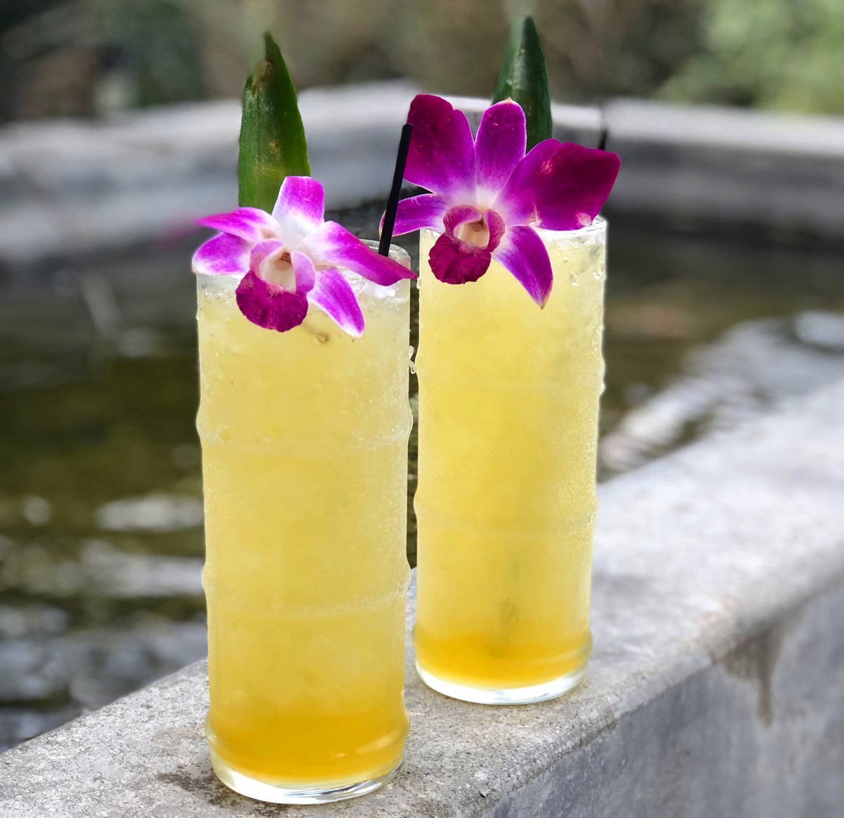 Passion Grove Swizzle – A Summer Tiki Cooler
