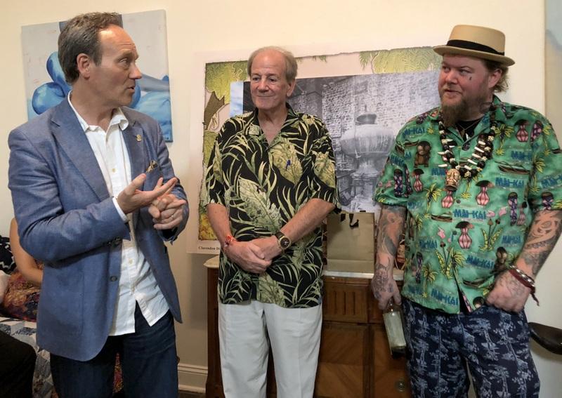 Alexandre Gabriel, Stephen Remsberg, Scotty Schuder