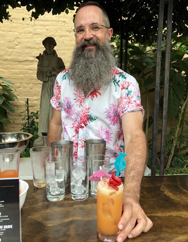 Paul McGee at Appleton's Rum Rising