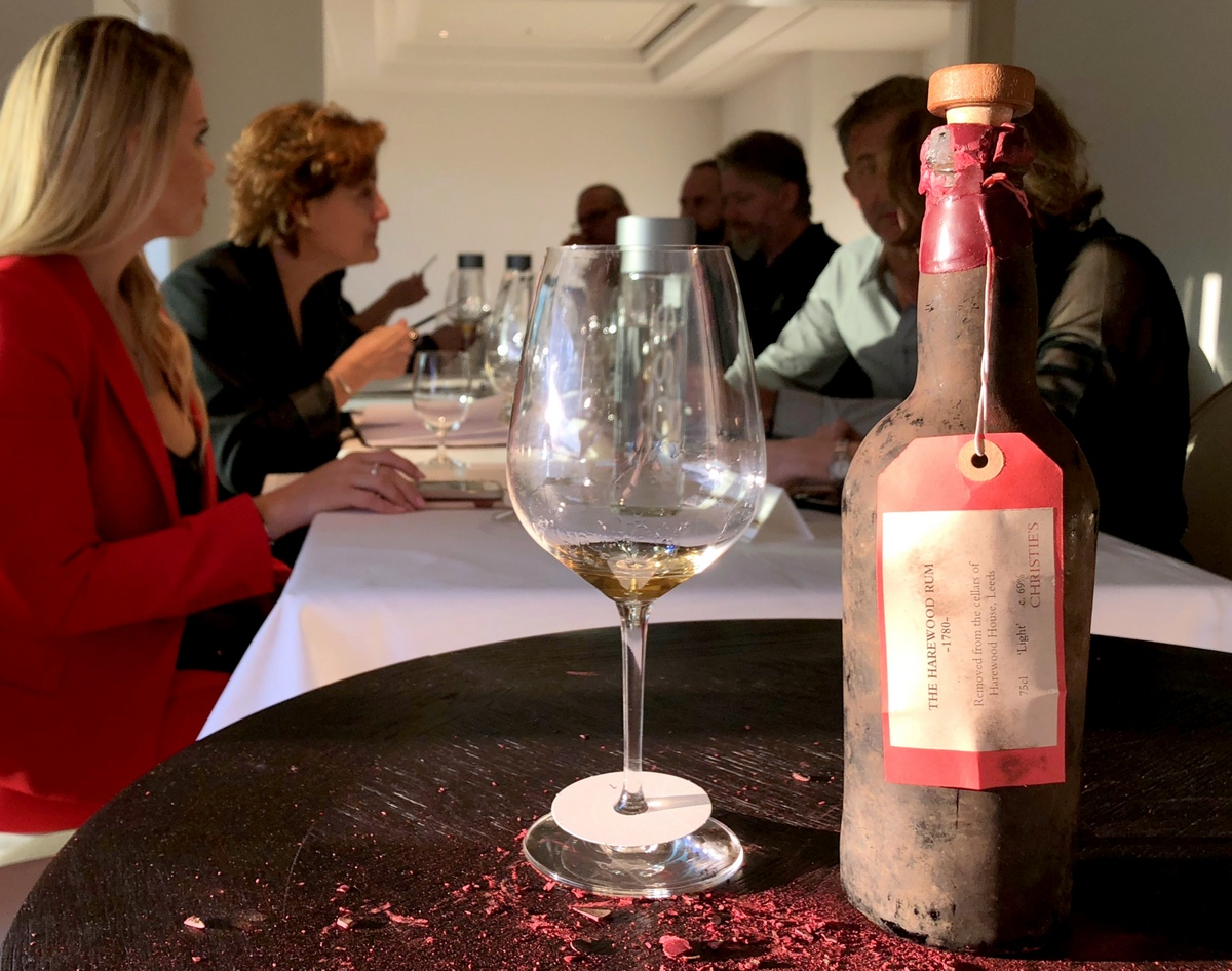 Two Centuries in a Bottle: Drinking the Harewood House 1780 Rum