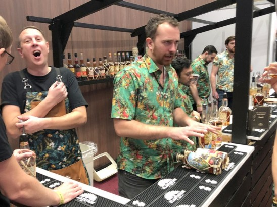 UK RumFest 2018 - Plantation Rum booth
