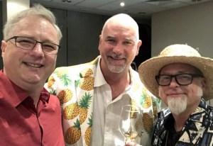 UK RumFest 2018 - Cocktail Wonk, Richard Oneslager, Jeff Berry