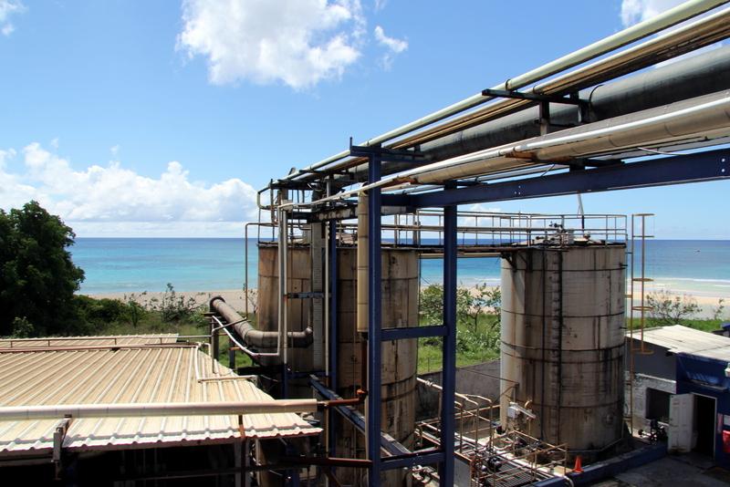 West Indies Rum Distillery, Barbados