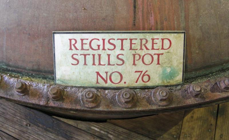 Mount Gay distillery pot still