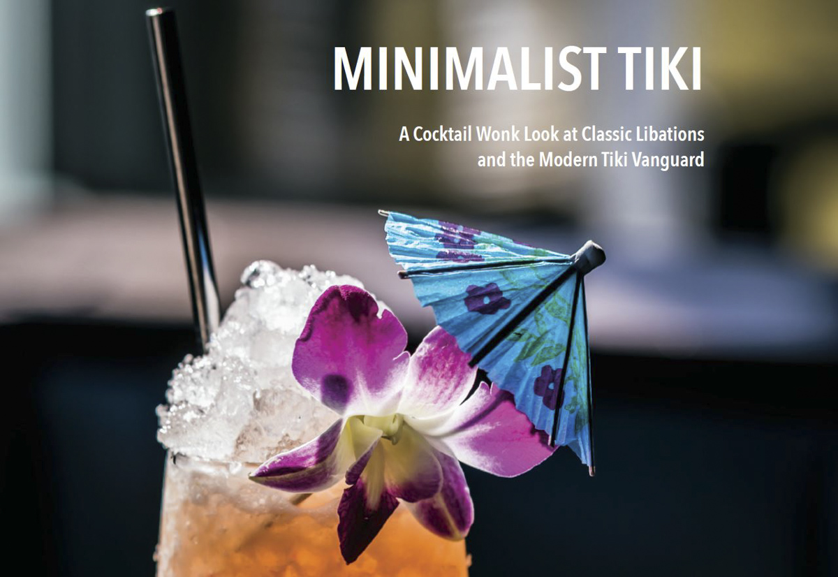 Minimalist Tiki – The Book! For Sale Now!