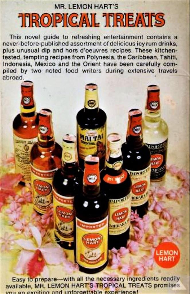 Lemon Hart Demerara Rum Bottles