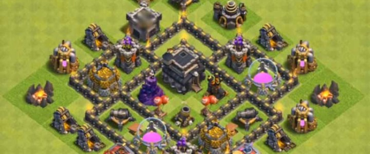 Base COC TH 5 Terkuat 2019